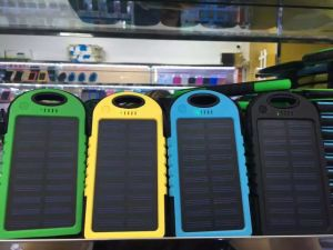 Solar Battery Mobile Phone Power Bank Charger From ISO9001 Factory pictures & photos