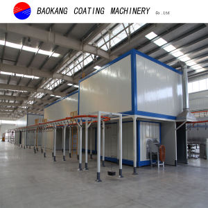 High Quality Powder Coating Line for Metal Products pictures & photos