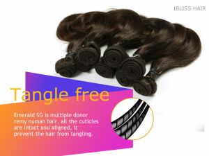 Wholesale Package Hair 8inch Brazilian Virgin Hair One Pack for Full Head pictures & photos