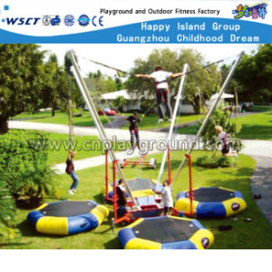 Outdoor New Design Oblong Trampoline Mini Trampoline (A-17904) pictures & photos