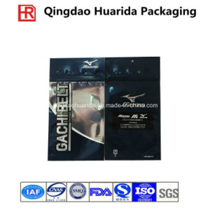 Resealable Aluminium Foil Plastic Garment Packaging Bags with Air Hole pictures & photos