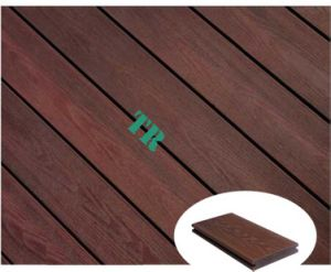 Durable Shielded WPC Decking, WPC Co-Extruded Decking pictures & photos