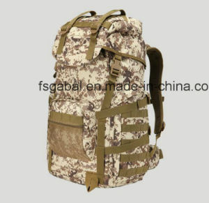 50L 800d Outdoor Army Camo Sports Travel Bag Backpack pictures & photos