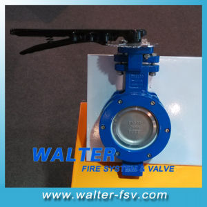 Metal Seated Wafer Butterfly Valve with Lever Op pictures & photos