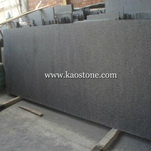 Black Basalt G684 Flamed and Brushed Tile-G684 pictures & photos