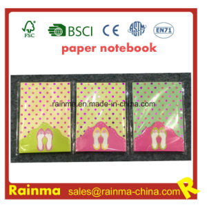 Paper Memo Pad with Glitter Diamond pictures & photos