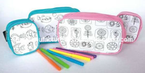 Children Draw Painting Pencil Bag (KM6676) pictures & photos