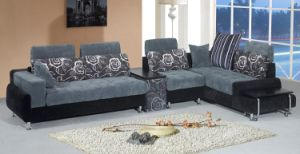 Fabric Home Sofa (1018#) pictures & photos