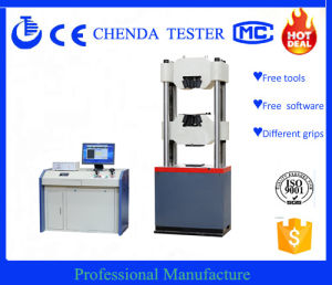 Computer Control Servo Hydraulic Universal Testing Machine Waw-1000d pictures & photos