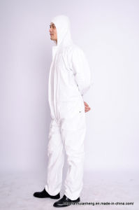 Protective Microporous Coverall pictures & photos