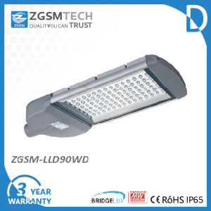 90W LED Street Light with Bridgelux Chips and Meanwell Driver pictures & photos