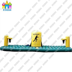Inflatable Basketball Bungee Run Challenge Sport Games pictures & photos