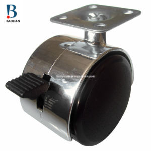 Caster / Wheel Caster/Furniture Caster with Brake (BLH-50P-15-4)
