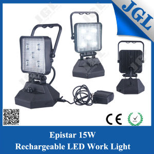 Epistar 15W USB Rechargeable LED Magnetic Work Light