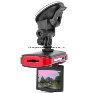 2.4 Inch TFT LCD Car DVR Camcorder with 2x Zoom CMOS Wide Angle Lens pictures & photos