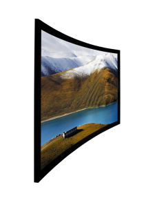 2.35: 1 Curved Fixed Frame Projector Screen with Custom Sizes pictures & photos