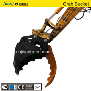 Hydraulic Excavator Bucket Grab Grapple for 10tons Excavator pictures & photos