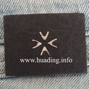 2014 Fashion Leather Patch for Jeans (PA-12) pictures & photos