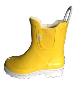 Handle Rainboots for Boys pictures & photos