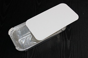Aluminum Foil Food Container Cover pictures & photos