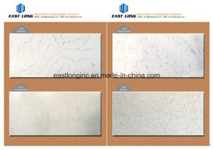 White Marble Artificial Quartz Stone for Countertop, Wall, Floor Tiles pictures & photos