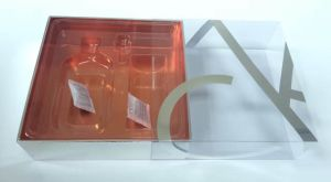 Gift Box Packaging for Cosmetic with Plastic Blister pictures & photos