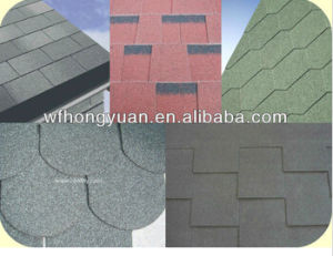 Fiberglass Asphalt Roofing Shingles pictures & photos