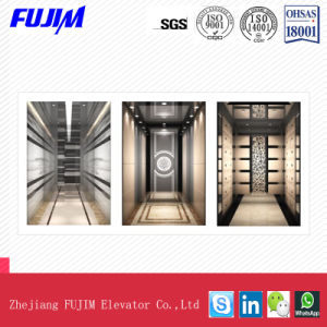 Small Machine Room Passenger Home Elevator with Beautiful Decoration pictures & photos