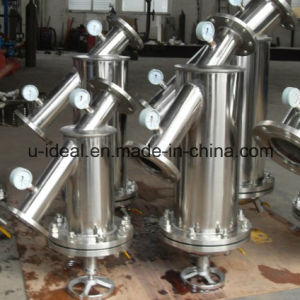 Ui-4 Y- Type Hygiene Grades Stainless Steel Piping Filter pictures & photos