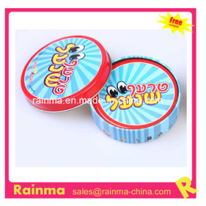 Round Shape Playing Card in Tin Box Packing pictures & photos