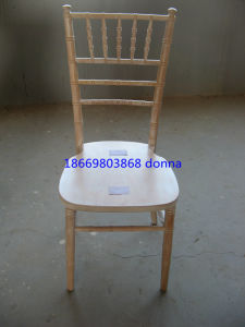 Lime Wood Chiavari Chair with Free Cushion pictures & photos
