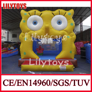 Exciting 0.55mm PVC Mini Inflatable Jumping Bouncer Bouncer for Kids (J-IC-02) pictures & photos