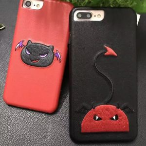2017 New Embroidery Mobile Phone Case for iPhone 7 pictures & photos