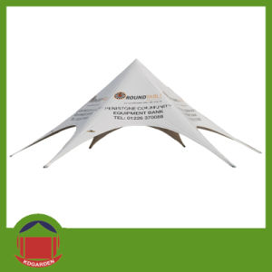 Single Pole Start Tent with Customer Printing Logo pictures & photos