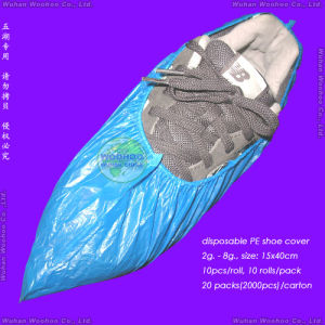 Disposable HDPE Overshoes pictures & photos