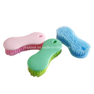 Easy Hold Plastic Clothes Cleaning Brush pictures & photos