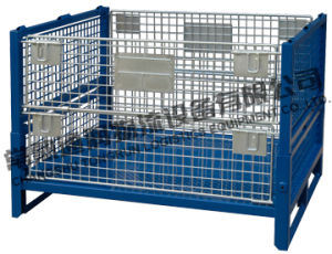 Heavy Duty Wire Mesh Cages for Storage (SWK8010) pictures & photos
