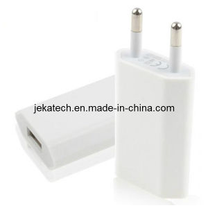 5V 1A EU Plugs USB Power Adapter Charger for iPhone pictures & photos