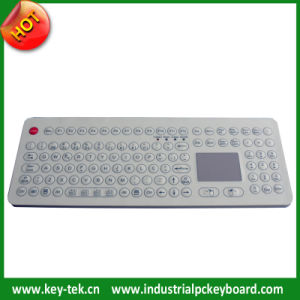 IP68 Scratchproof Membrane Keyboard with Touchpad Mouse