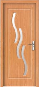 Wooden PVC Door (BG-P9087) PVC Veneer Door