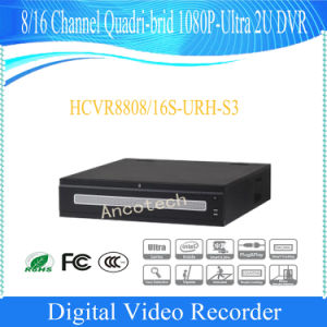 Dahua 8 Channel Quadri-Brid 1080P-Ultra 2u DVR (HCVR8808S-URH-S3) pictures & photos