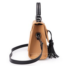 Lady′s Fashionable Tassels Shoulder Bag (LDO-01670) pictures & photos