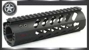 Carbine 7 Inch Free Float 223/5.56 Keymod Handguard Rail Mount with Steel Barrel Nut pictures & photos