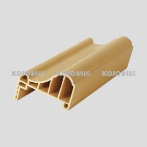 European Style Waterproof Solid WPC Architrave (CM-8038A) pictures & photos