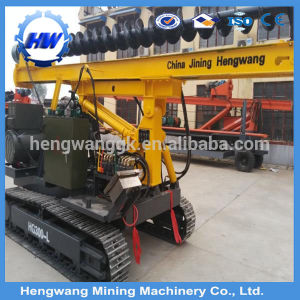 Highway Guardrail Hydraulic Pile Driver for Posts Installation pictures & photos
