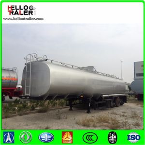China Tri-Axle 40m3 Fuel Tanker Truck Trailer pictures & photos