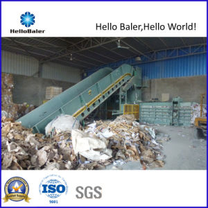 Hydraulic Automatic Paper Baling Machine (HFA20-25) pictures & photos
