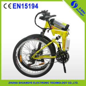 Carbon Steel Folded Mountain Electric Bike, China Supplier pictures & photos