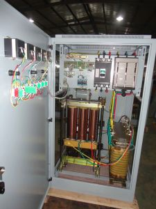Three Phase Full Automatic Compensated Voltage Stabilizer (SBW) 150k pictures & photos