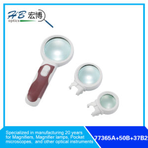 3X65mm/10X50mm/16X37mm Magnifier Main Lens Interchangeable pictures & photos